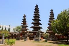 Висок Pura Meru в Mataram, острове Lombok (Индонезия) стоковая фотография