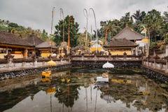 Висок Pura Tirta Empul bali Индонесия стоковые изображения
