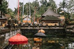 Висок Pura Tirta Empul bali Индонесия стоковые изображения rf