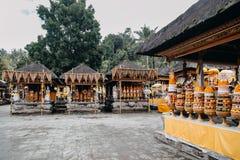 Висок Pura Tirta Empul bali Индонесия стоковая фотография