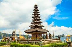 Висок Pura Ulun Danu Bratan стоковые фото
