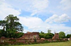 Висок Putthaisawan в Ayutthaya, Таиланде Стоковая Фотография RF