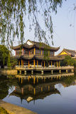 Висок Quanfu буддийский в Zhouzhuang Китае Стоковые Фото