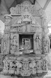 Висок Ranakpur Jain в Раджастхане, Индии Стоковая Фотография RF
