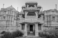 Висок Ranakpur Jain в Раджастхане, Индии Стоковая Фотография