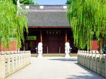 Висок ` s короля Qian Ханчжоу Стоковые Фотографии RF