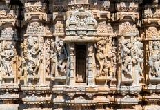 Висок Sathis Deori Jain на форте Chittor Раджастан, Индия Стоковое Изображение