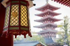 Висок Senso-ji в токио Стоковое фото RF