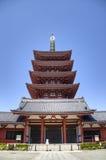 Висок Senso-ji в Asakusa, токио, Японии Стоковые Изображения RF