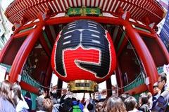 Висок Senso-ji Стоковые Изображения