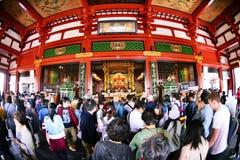 Висок Senso-ji Стоковая Фотография RF