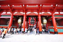 Висок Senso-ji Стоковые Фотографии RF