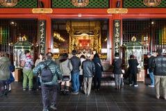 Висок Sensoji в токио, Японии Стоковые Фото