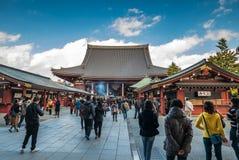 Висок Sensoji в токио, Японии Стоковое Изображение RF