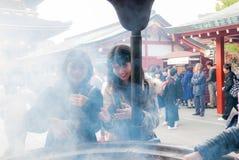 Висок Sensoji в токио, Японии Стоковые Изображения