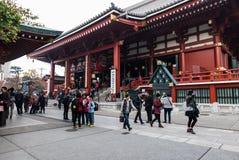 Висок Sensoji в токио, Японии Стоковое Фото