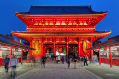 Висок Sensoji, токио, Япония стоковая фотография