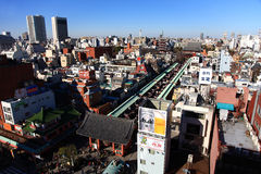 Висок Sensoji, токио, Япония Стоковое фото RF