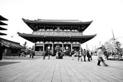 висок sensoji японии Стоковое фото RF