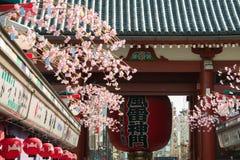 Висок Sensoji Asakusa, Токио, Япония Стоковые Изображения