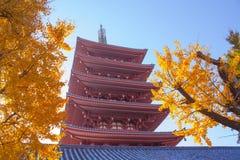 Висок Sensoji (Asakusa) Стоковые Изображения