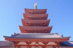 Висок Sensoji (Asakusa) Стоковые Изображения RF