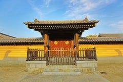 Висок Shitennoji в палате Tennoji, Осака Стоковые Изображения RF