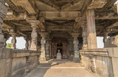 Висок shiva Hemadpanti Стоковое Изображение
