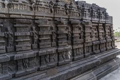 Висок shiva Hemadpanti Стоковые Фото