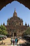 Висок Shwegugyi - Bagan - Мьянма Стоковое фото RF
