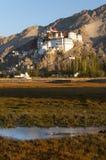 Висок Spituk Budhist, Ladakh, Индия Стоковые Изображения RF