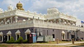 Висок Sri Venkateswara в Bridgewater, Нью-Джерси стоковая фотография rf