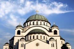Висок St Sava Стоковая Фотография
