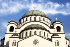 Висок St Sava Стоковое фото RF