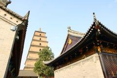 висок stupa Стоковое Изображение RF