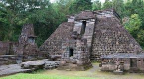 Висок Sukuh, Java, Индонезия Стоковое Фото