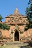 Висок Sulamani в Bagan, Мьянме Стоковое Изображение