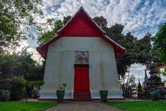 Висок Supanburi Wat Kea старый в Таиланде стоковое фото rf