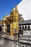 висок swayambunath kathmandu Непала Стоковое Фото