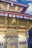 висок swayambunath kathmandu Непала Стоковая Фотография