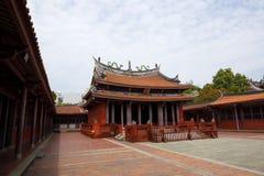 Висок Tainan конфуцианский, Tainan, Тайвань, 2015 Стоковое фото RF