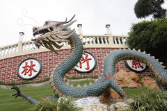 Висок Taoist - город Cebu Стоковая Фотография RF