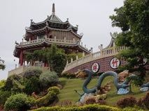Висок Taoist, город Cebu, Visayas, Филиппины Стоковая Фотография RF