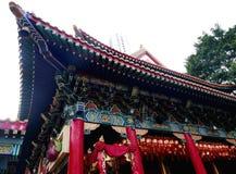 висок taoist крыш стародедовских зданий самомоднейший стоковые изображения