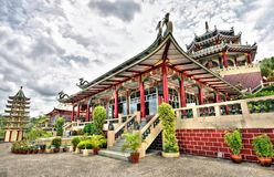 висок taoist philippines города cebu стоковое изображение rf