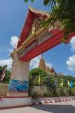 Висок tham-sua Wat, Таиланд Стоковое Фото