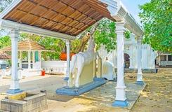Висок Thaniwalla Devalaya буддийский Стоковое фото RF