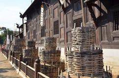 Висок Toa лотка Чиангмая Wat Стоковая Фотография RF