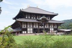 Висок Todaiji в Nara Стоковая Фотография
