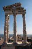 Висок Trajan на Pergamos Стоковое Фото